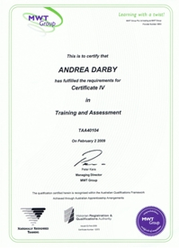 Certified Workplace Trainer